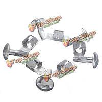 5 пар крепежных зажимов крышки картера двигателя для Пежо 206 207 406