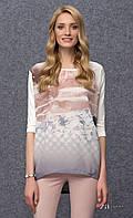 ZAPS 2016-2017 блузка JOVAN 006 молочна