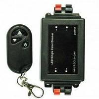 LED диммер 8A 96W 12V 3 кнопки с управлением по RF каналу Ledex Premium