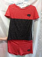 Шорты+футболка женская норма Турция качественная купить оптом в Одессе 7км