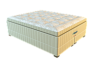 Матрас с подиумом Hamilton / Гамильтон 2000х2000х600мм ЕММ American Dream  двойной боннель 300кг