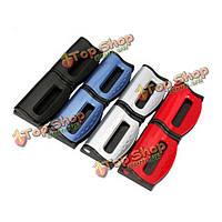 Пара автомобильный ремень безопасности установлен зажим ремня безопасности отрегулируйте эластичный устройства