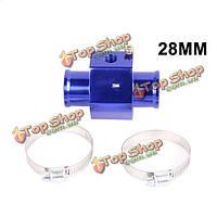 Авто тройник сустава воды термометр модифицированные аксессуары температура воды индуктор 28-40mm