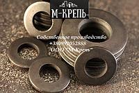 Шайба конусная пружинная 20 оцинкованная DIN 6796 сталь 60