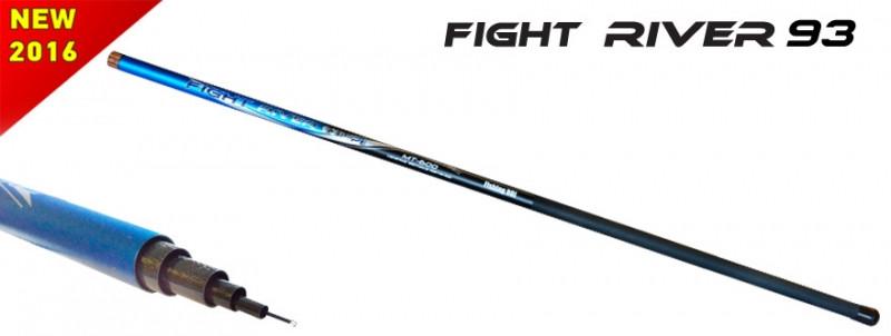 Удилище Fishing ROI Telepole 93 Fight River 600 10-30gr б/к