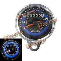 Мотоцикл LED одометр & тахометр измеритель манометр 0-140км/ч