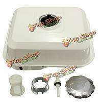 Бак для горючего газа с газовой шапки спускной кран фильтра белый для Honda GX160 5.5hp