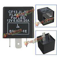 3 пин-cf13 автомобиля flasher реле исправление LED Свет гипер флеш blinker индикатор
