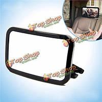Тироль выпуклая безопасности черный прямоугольник автомобиля регулируется ребенок безопасности зеркало заднего авто ребенок зеркало 29 *