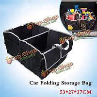 Тироль сумка для хранения складной багажник машины Оксфорд организатор ящик для хранения ткань машина мешок мешок хранения пространство