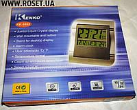 Настенные электронные часы с ножкой Kenko KK-5883