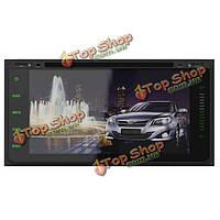 Са-711 автомобильный DVD-плеер mp3 mp4 передатчик Bluetooth FM GPS навигация емкостный сенсорный экран для Тойота