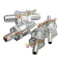 2ps12мм алюминиевый топливный обратный клапан в одну сторону бензин дизель