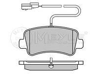 Тормозные колодки задние с датчиком на Renault Master III 10-> FWD —  Meyle (Германия) - MY0252511218/W