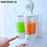 Двухбаковый дозатор для жидкого мыла ― Soap Dispenser