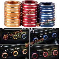 3шт/набор автомобилей ALU декоративные ручки кольцо ручки кондиционер кольцо для нового Sagitar 2012-2014 гольф 6
