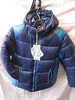 Курточка на МАЛЬЧИКА ЗИМА (3-7 лет) на ХОЛЛОФАЙБЕРЕ купить оптом в Одессе оптом дешево