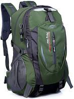 Рюкзак для города 30л Peng Wel тёмно-зелёный