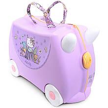 Детский чемодан Hello Kitty Lilac