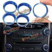 4 x алюминий декоративные кондиционирования воздуха + аудио ручки для отделки Chevrolet Malibu