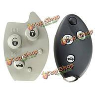 3 кнопки флип кнопки резиновые дистанционного ключа коврик подходит для Citroën Xsara с5