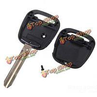 Дистанционный ключ замена 1 боковой кнопки ключевой случай брелок лезвие для Тойота