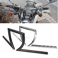 Перетащить рычаг управления г бар для мотоцикл измельчитель поплавок Yamaha Suzuki Honda 7 / 8inch 1дюйм