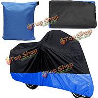 295 × 110x140см 180T полиэфирной ткани мотоцикл чехол от дождя водонепроницаемый уф 3xl снежная пыль