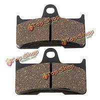 2шт задние тормозные накладки для CF мототехники CF500 500 500cc/cf188 cf600 600 600cc cf196 АТВ утв