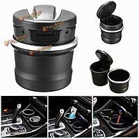Портативный автомобиль пепельницы ящик для хранения LED для BMW 1 серии 3 серии 5 серии 7 х 1 х 3 х 5 х 6