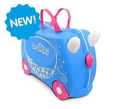 Детский чемоданчик на колесах TRUNKI  PRINCESS PEARL