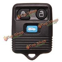 Три кнопки дистанционного ключа дело Shell для Мазда Форд замена черный
