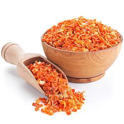 Морковь сушеная кусочками 3*3, 1 кг (вес)
