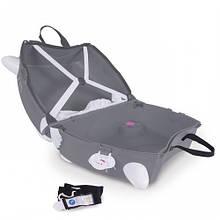 Детский чемоданчик на колесах  TRUNKI BENNY CAT