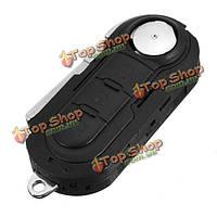 3 кнопки флип удаленный ключ комбинированный чехол крышка оболочки жильем Fiat 500 панды Punto браво автосигнализации ке