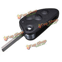3 кнопки дистанционного ключа сальто брелок случае режиссерский лезвие ПФР Alfa Romeo