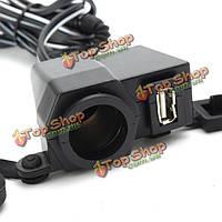 Lpc0102 5V 2.1a автомобиль мотоцикл USB зарядное устройство от автомобильного прикуривателя