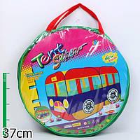 Детская палатка автобус A999-20: сетки, самораскрывающийся механизм, сумка 38х39 см