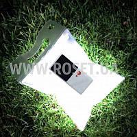 Фонарь туристический надувной на солнечных батареях