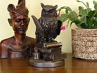 Статуэтка Veronese Сова с пером 23 см 75033