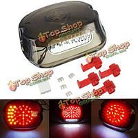 Дым LED хвост тормоза свою очередь свет 91-10 Harley Sportster Softail Dyna лег