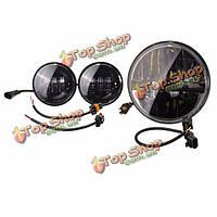 7-дюймов LED Проектор daymaker фар 2шт 4.5-дюймов вспомогательные ближний свет фар для Harley