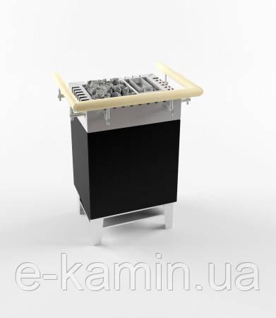Електрична кам'янка з парогенератором Typ WK45 Black 6.0+1.5 кВт