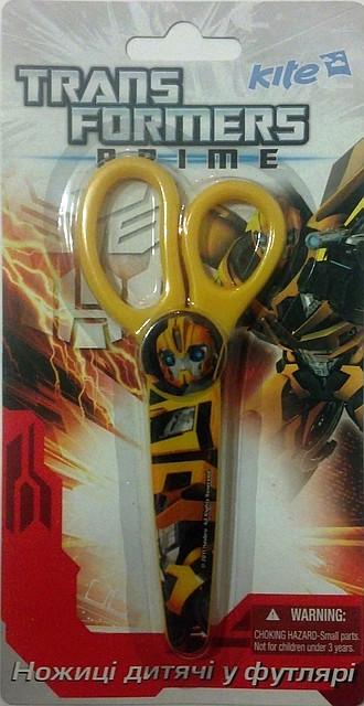 """Ножницы в пластиковом чехле """"Transformers"""""""