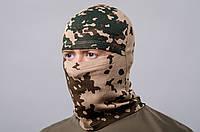 Шапка-маска (подшлемник) зеленая пустыня