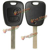 Две кнопки отдаленный полный случай брелока ремонтного комплекта для Тойоты aygo