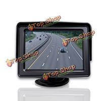4.3-дюйма тонкий ЖК-цифровой дисплей автомобильный ключевых функциональных egulation