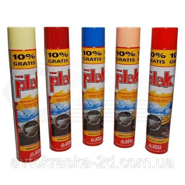 PLAK поліроль торпеди аерозоль (750 мл) аромат полуниця.