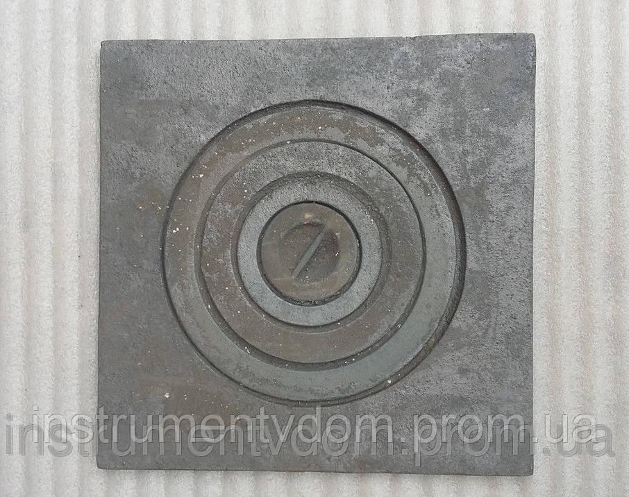 Плита печная чугунная 1-конфорочная (400х400 мм)