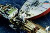 Столкновение в Токийском заливе с последствиями.